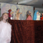 Кукольный театр в гостях у детей.