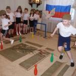 Спортивный праздник к 23 февраля.