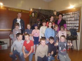 Экскурсия в краеведческий музей МБОУ Мотмосской СОШ.