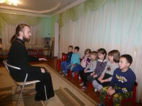 Беседы с духовником детского сада.
