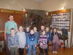 Экскурсия в краеведческий музей при школе с.Мотмос